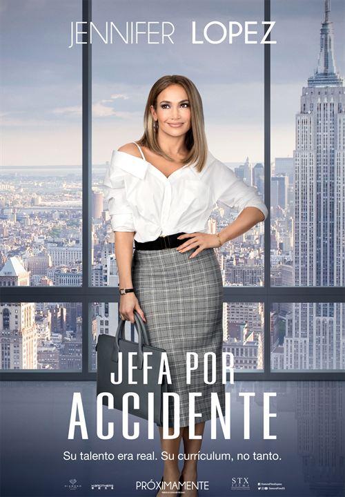 Jefa por accidente : Cartel