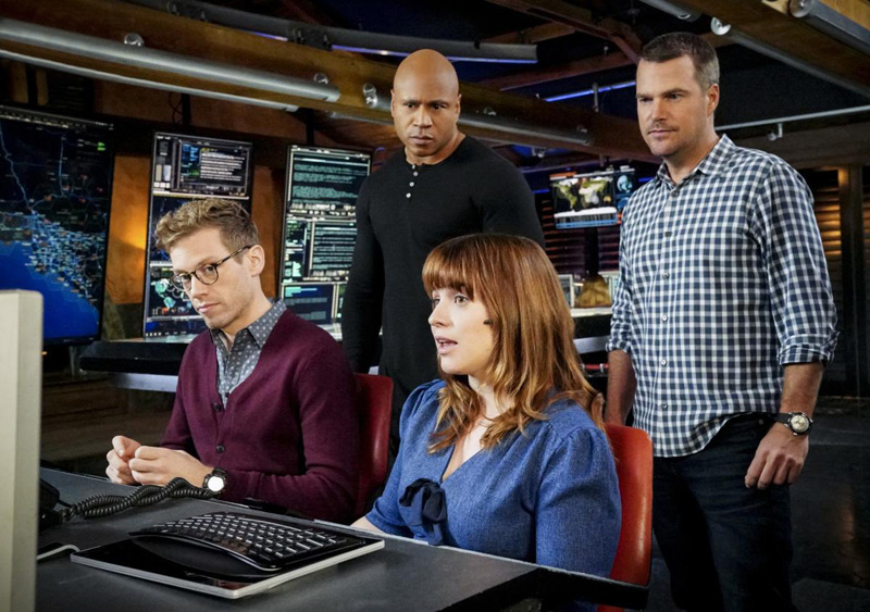 Foto Chris O'Donnell, LL Cool J, Renee Felice Smith