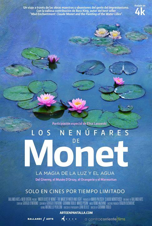 Los nenúfares de Monet : Cartel