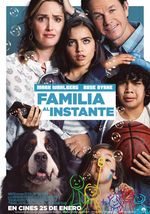 Familia al instante : Cartel