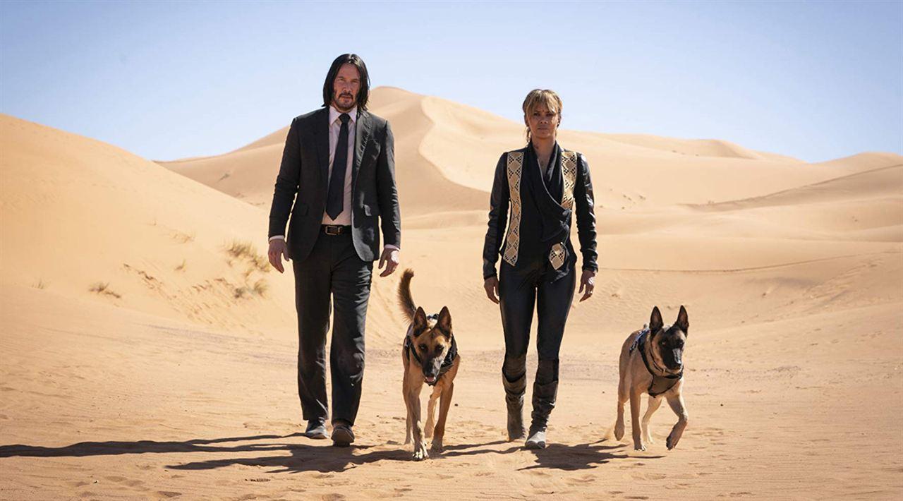 John Wick: Capítulo 3 - Parabellum : Foto Halle Berry, Keanu Reeves