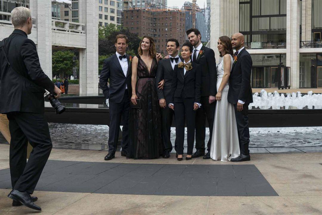 Foto Annie Parisse, Cobie Smulders, Fred Savage, Jae Suh Park, Keegan-Michael Key
