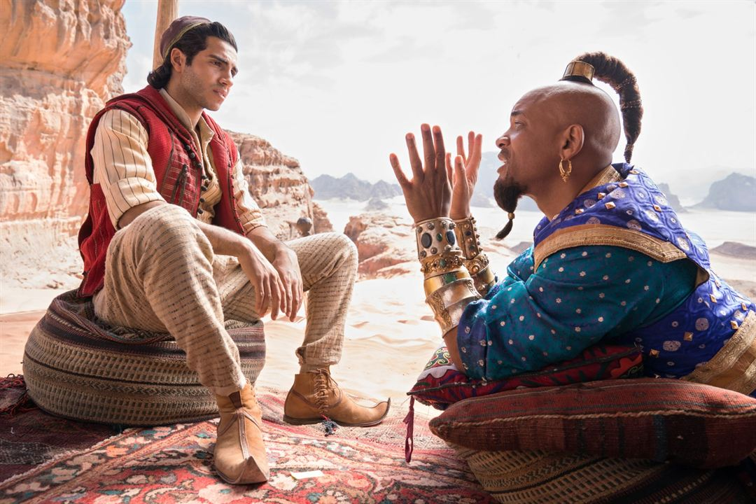 Aladdin : Foto Mena Massoud, Will Smith
