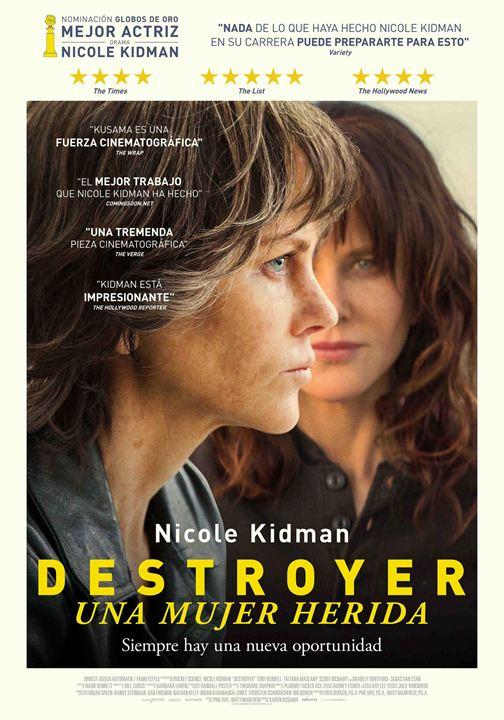 Destroyer. Una mujer herida : Cartel