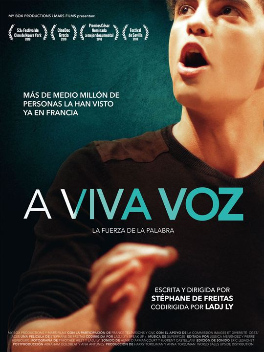 A viva voz : Cartel