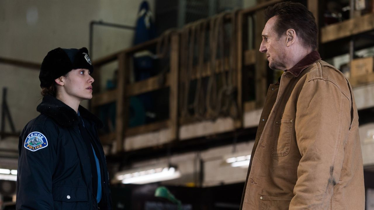 Venganza bajo cero : Foto Emmy Rossum, Liam Neeson