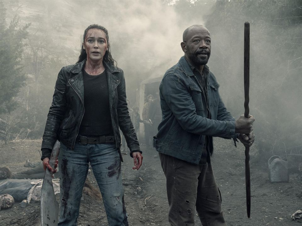 Foto Alycia Debnam-Carey, Lennie James