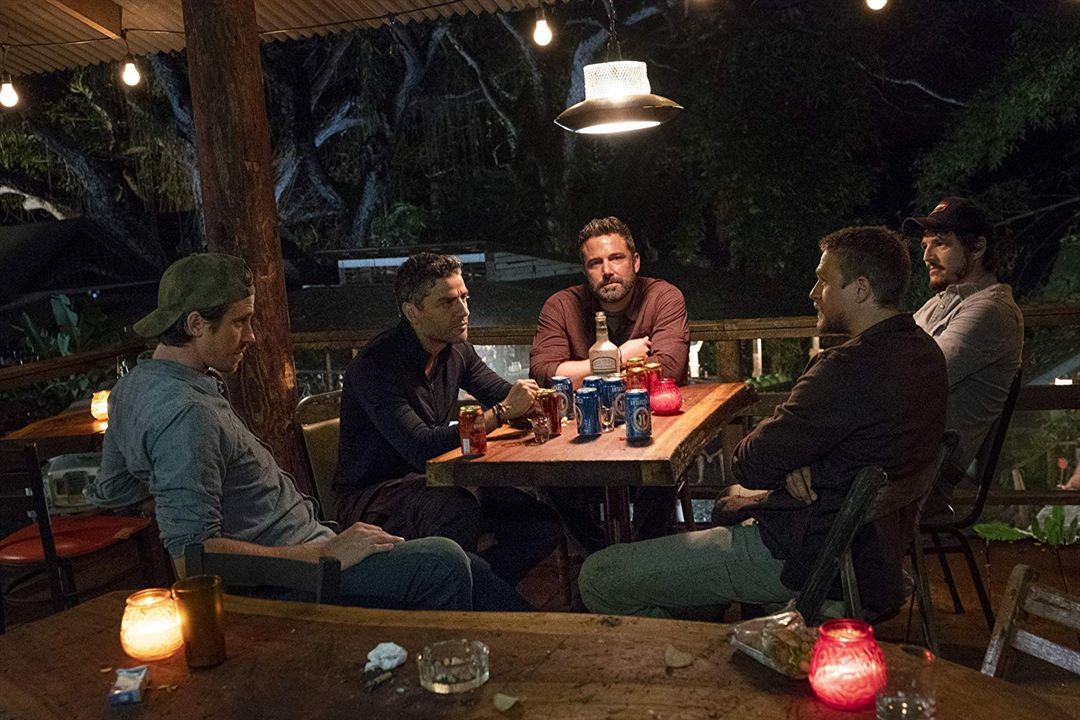 Triple frontera : Foto Ben Affleck, Charlie Hunnam, Garrett Hedlund, Oscar Isaac, Pedro Pascal