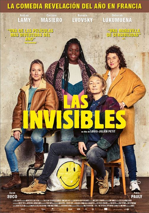 Las invisibles : Cartel