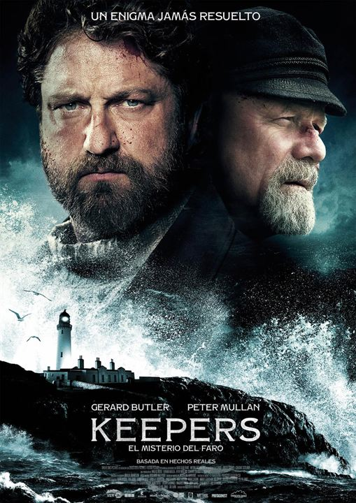 Keepers. El misterio del faro : Cartel