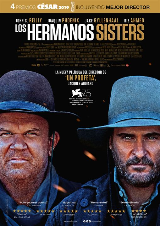 Los hermanos Sisters : Cartel