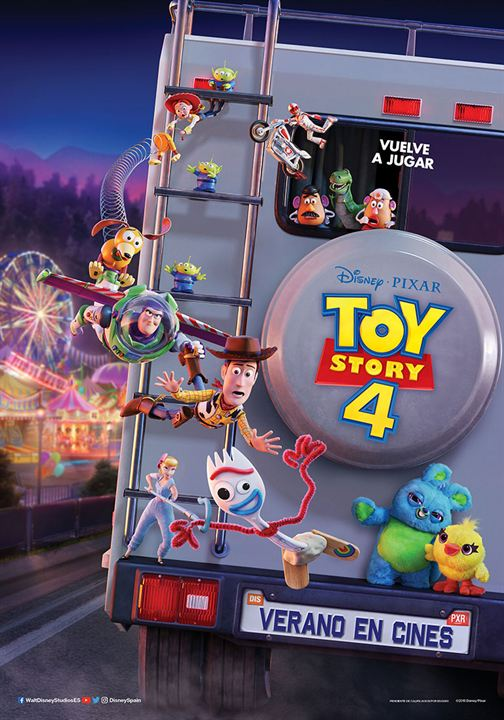 Toy Story 4 : Cartel