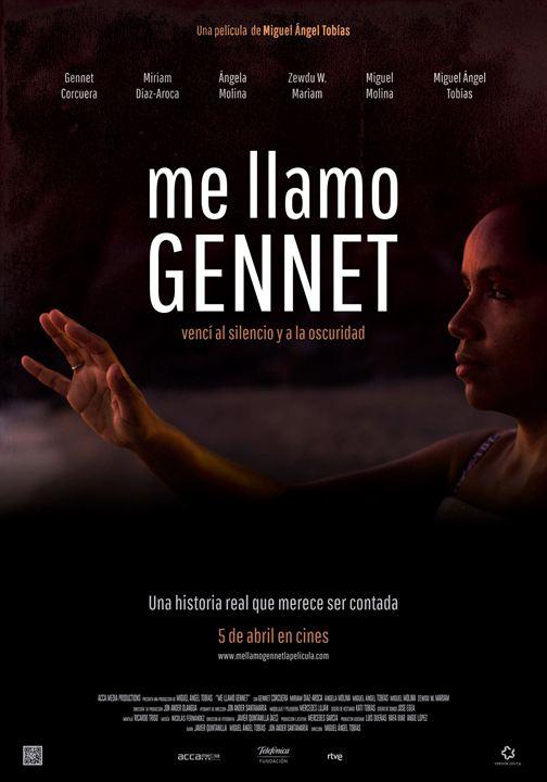 Me llamo Gennet : Cartel