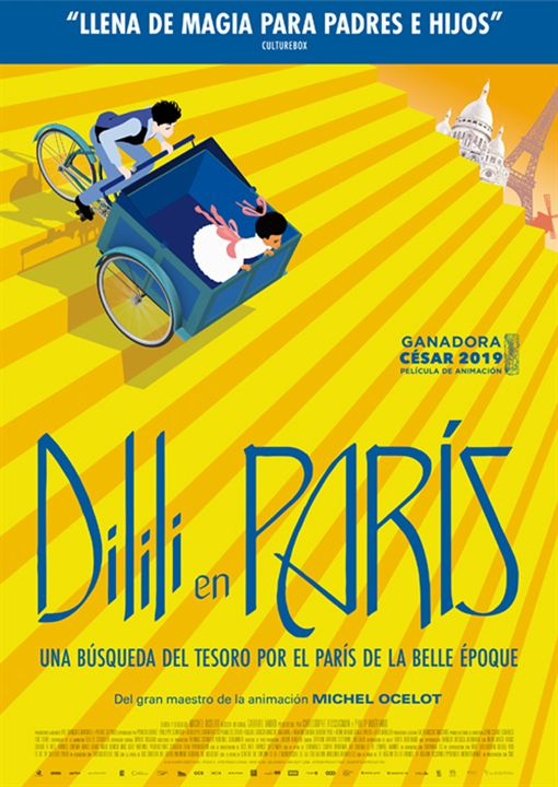 Dilili en Paris : Cartel