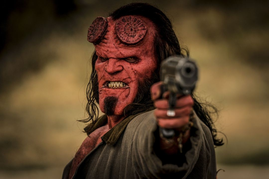Hellboy : Foto David Harbour