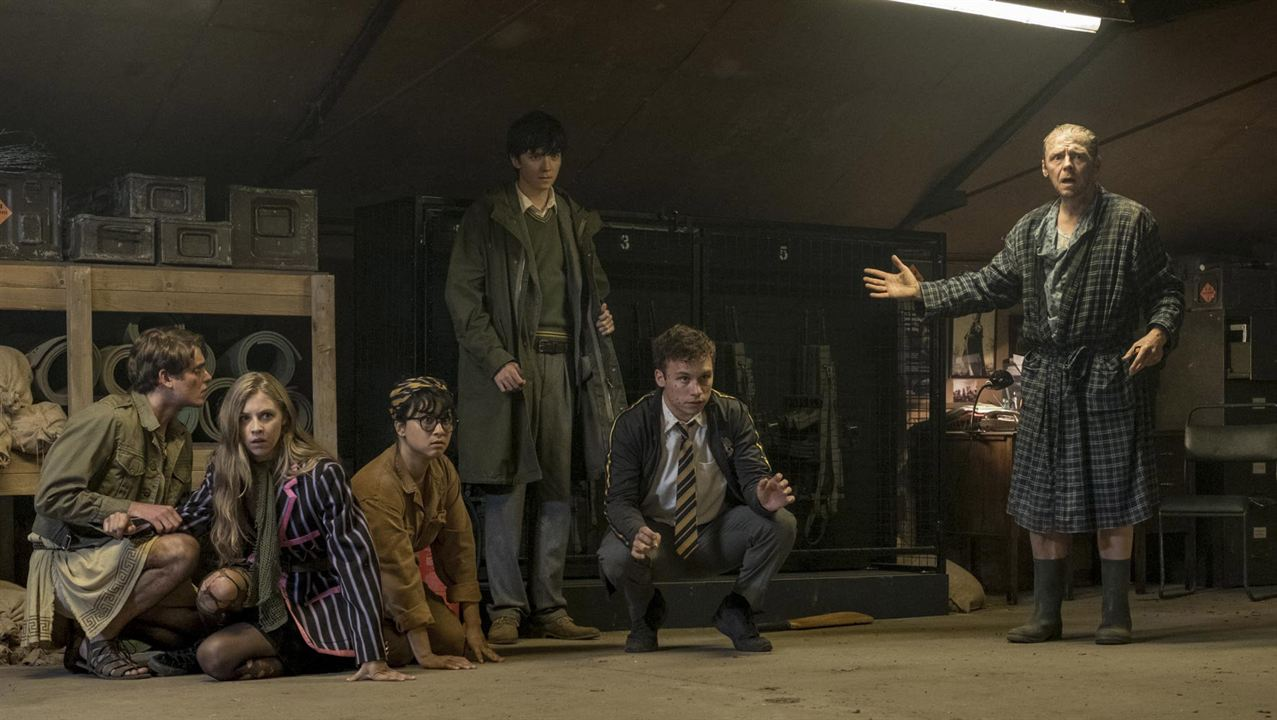 Slaughterhouse Rulez : Foto Asa Butterfield, Finn Cole, Hermione Corfield, Isabella Laughland, Simon Pegg