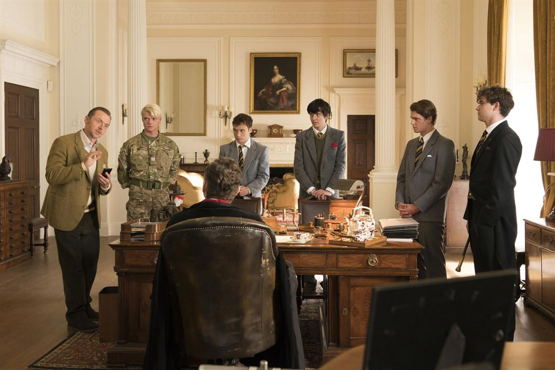 Slaughterhouse Rulez : Foto Asa Butterfield, Finn Cole, Simon Pegg, Tom Rhys Harries
