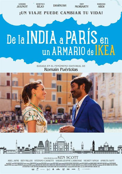 De la India a París en un armario de Ikea : Cartel
