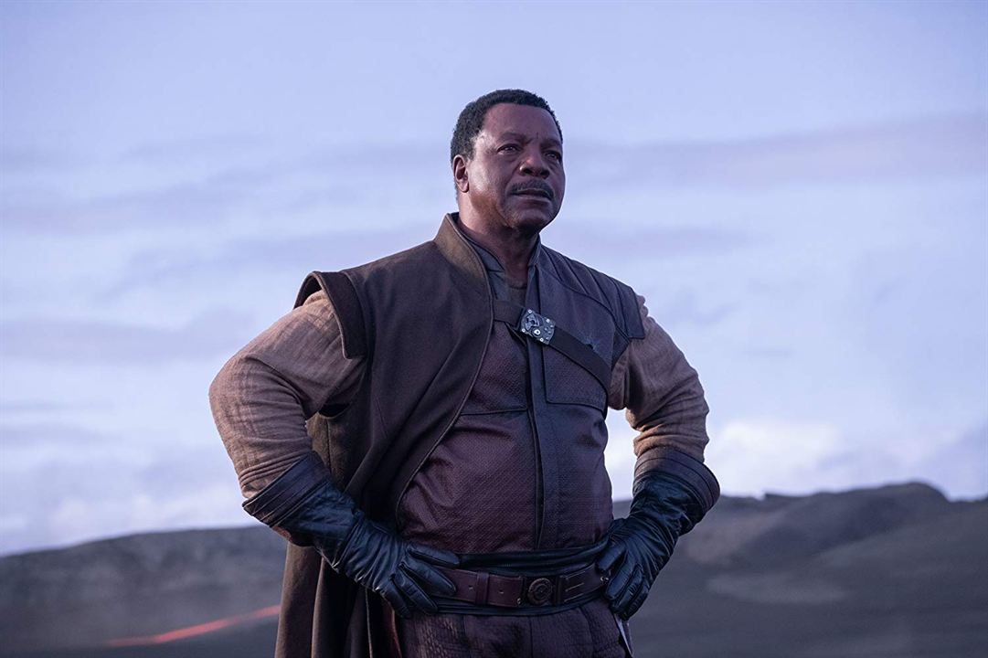 The Mandalorian : Foto Carl Weathers