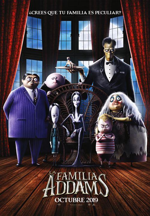 La familia Addams : Cartel