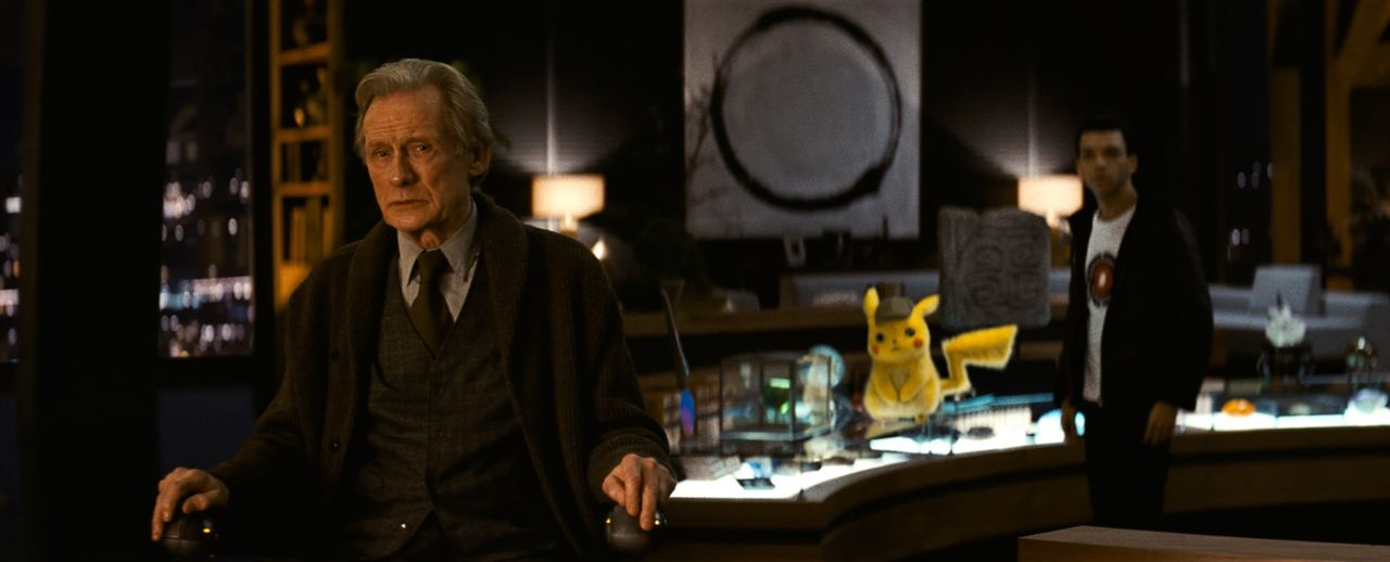 Pokémon Detective Pikachu : Foto Bill Nighy, Justice Smith