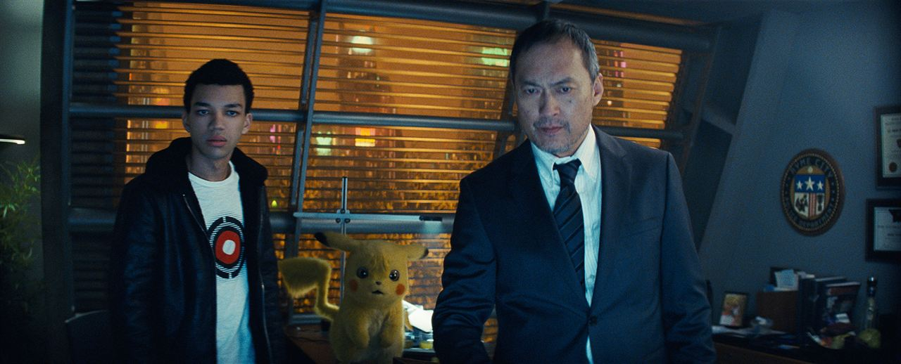 Pokémon Detective Pikachu : Foto Justice Smith, Ken Watanabe