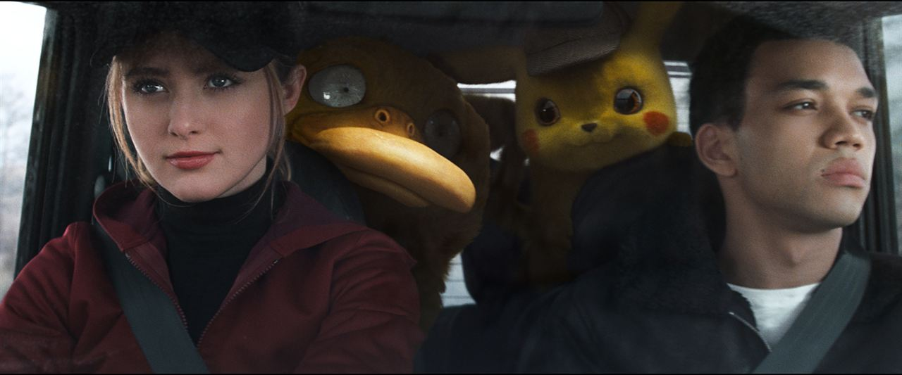 Pokémon Detective Pikachu : Foto Justice Smith, Kathryn Newton