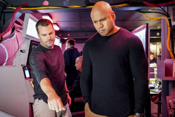 Foto Chris O'Donnell, LL Cool J
