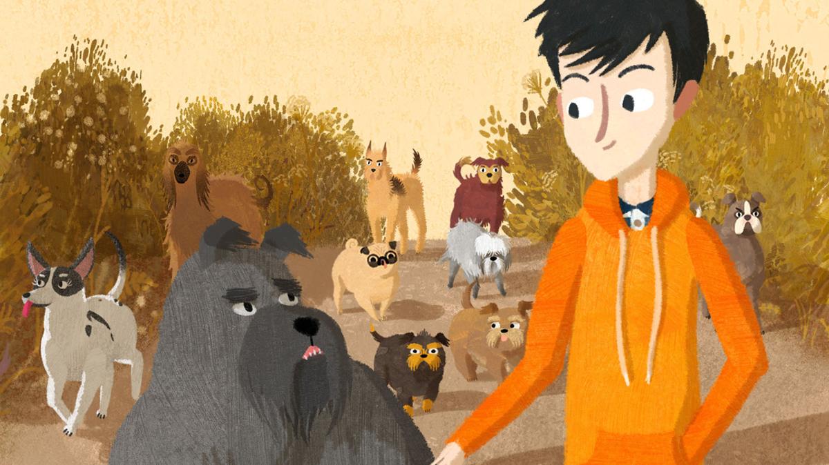 Jacob, Mimi y los perros del barrio : Foto