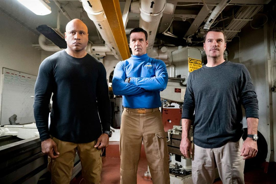 Foto Chris O'Donnell, David James Elliott, LL Cool J