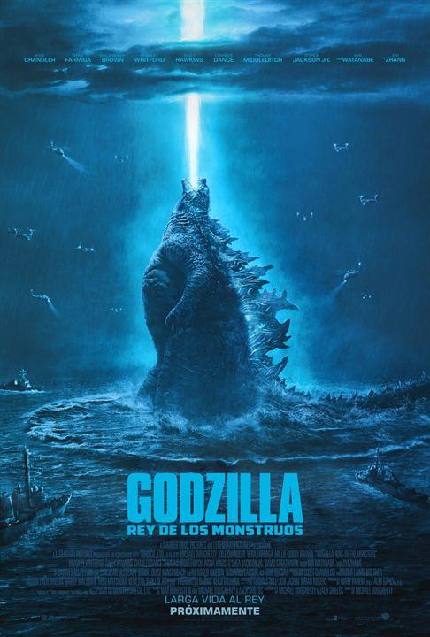 Godzilla: Rey de los Monstruos : Cartel