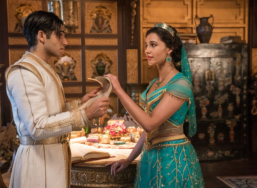 Aladdin : Foto Mena Massoud, Naomi Scott