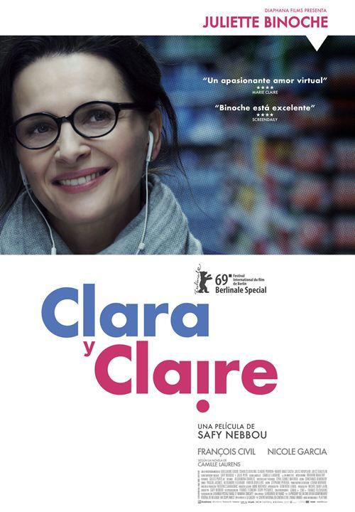 Clara y Claire : Cartel