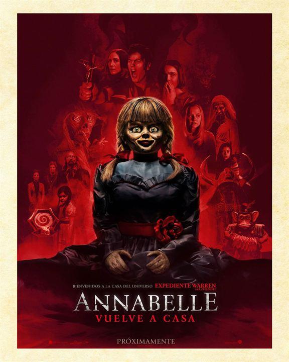 Annabelle vuelve a casa : Cartel