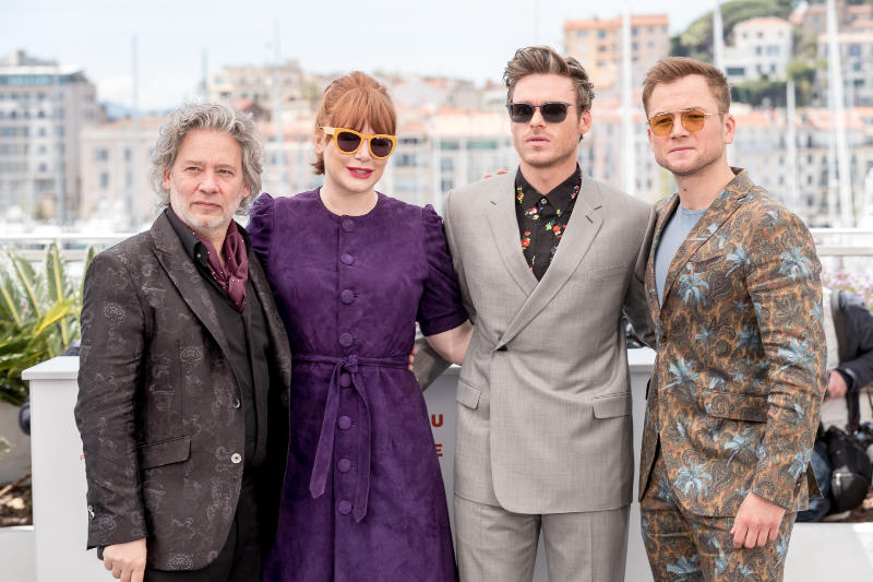 Rocketman : Couverture magazine Bryce Dallas Howard, Dexter Fletcher, Richard Madden, Taron Egerton