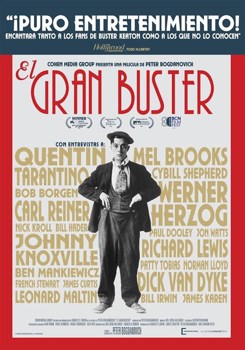 El gran Buster : Cartel