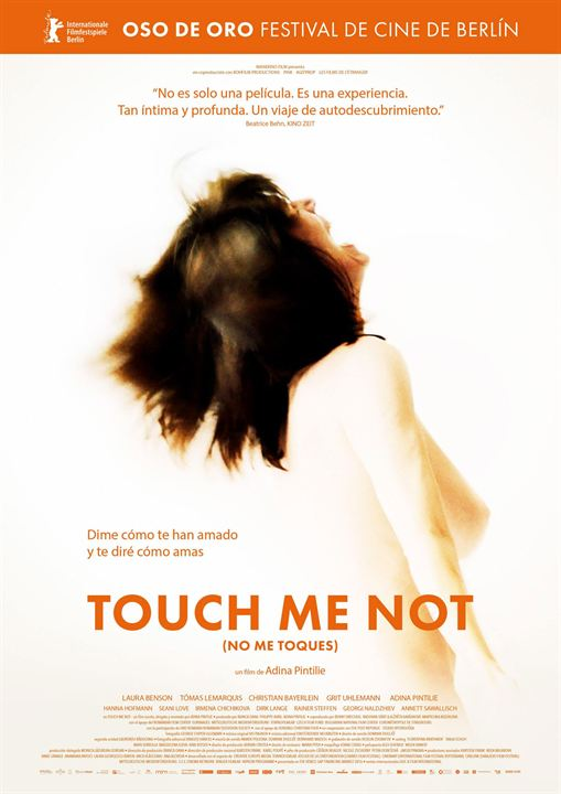 Touch me not (No me toques) : Cartel