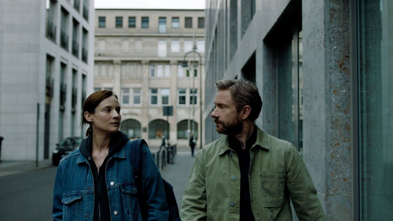 The Operative : Foto Diane Kruger, Martin Freeman