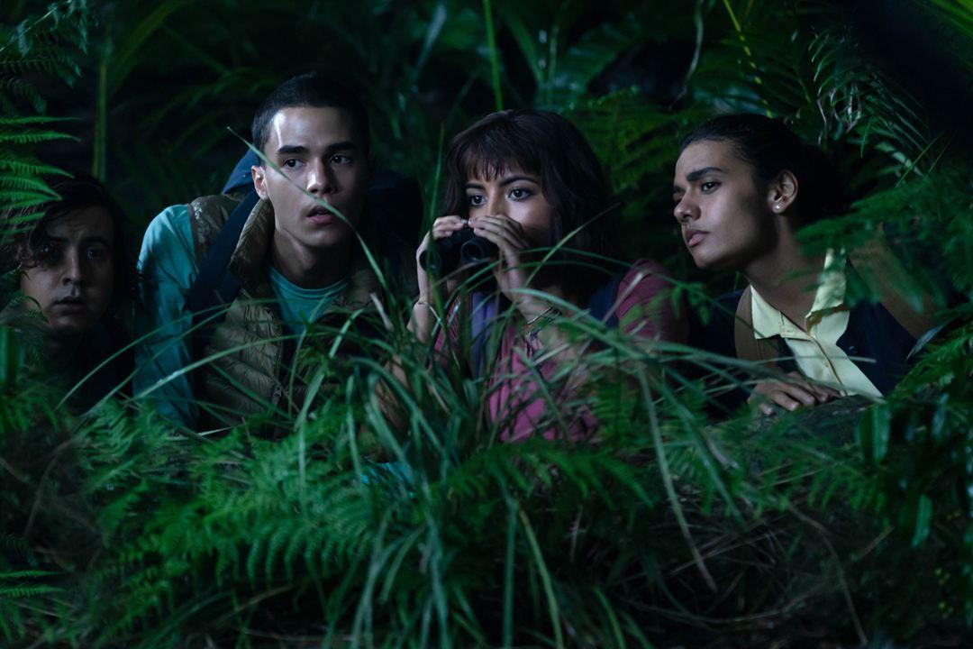 Dora y la Ciudad Perdida : Foto Isabela Merced, Jeffrey Wahlberg, Madeleine Madden, Nicholas Coombe