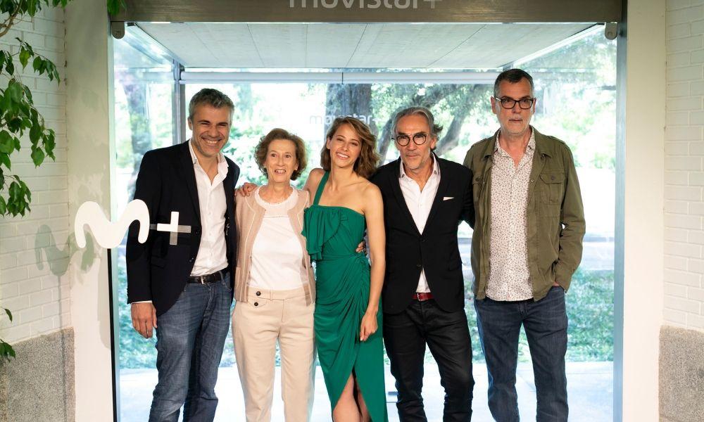 Dime quién soy : Couverture magazine Irene Escolar, Maria Pia Calzone, Oriol Pla, Pablo Derqui, Pierre Kiwitt