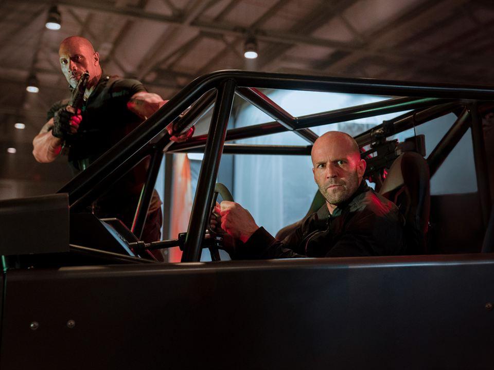 Fast & Furious: Hobbs & Shaw : Foto Dwayne Johnson, Jason Statham