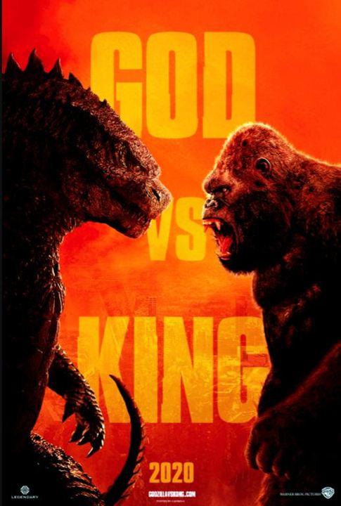 Cartel de Godzilla vs Kong - Foto 1 sobre 2 - SensaCine.com