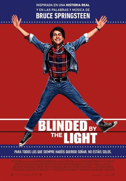 Blinded by the light (Cegado por la luz) : Cartel