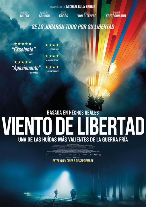 Viento de libertad : Cartel