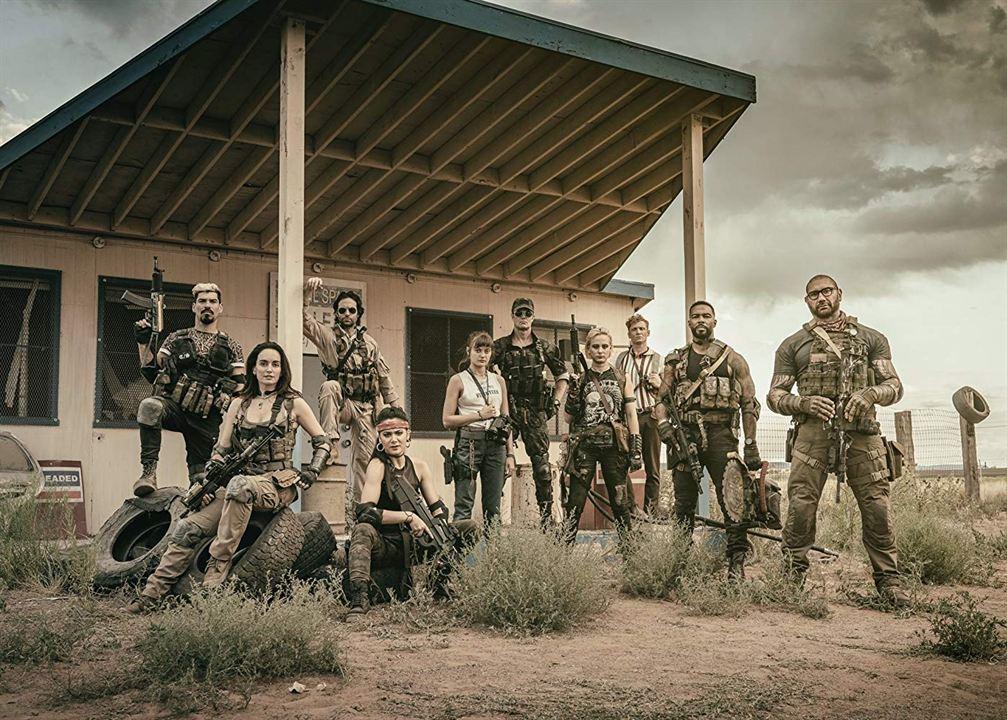 Army Of The Dead : Foto Dave Bautista, Ella Purnell, Garret Dillahunt, Raul Castillo, Samantha Win