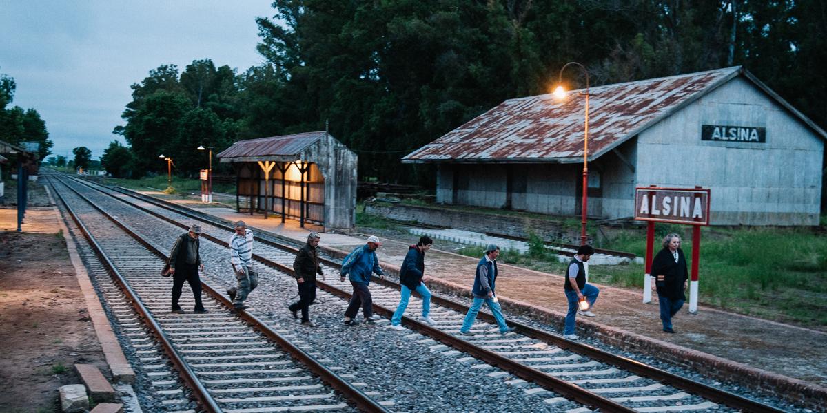 La Odisea de los Giles : Foto Carlos Belloso, Chino Darín, Daniel Aráoz, Luis Brandoni, Ricardo Darín