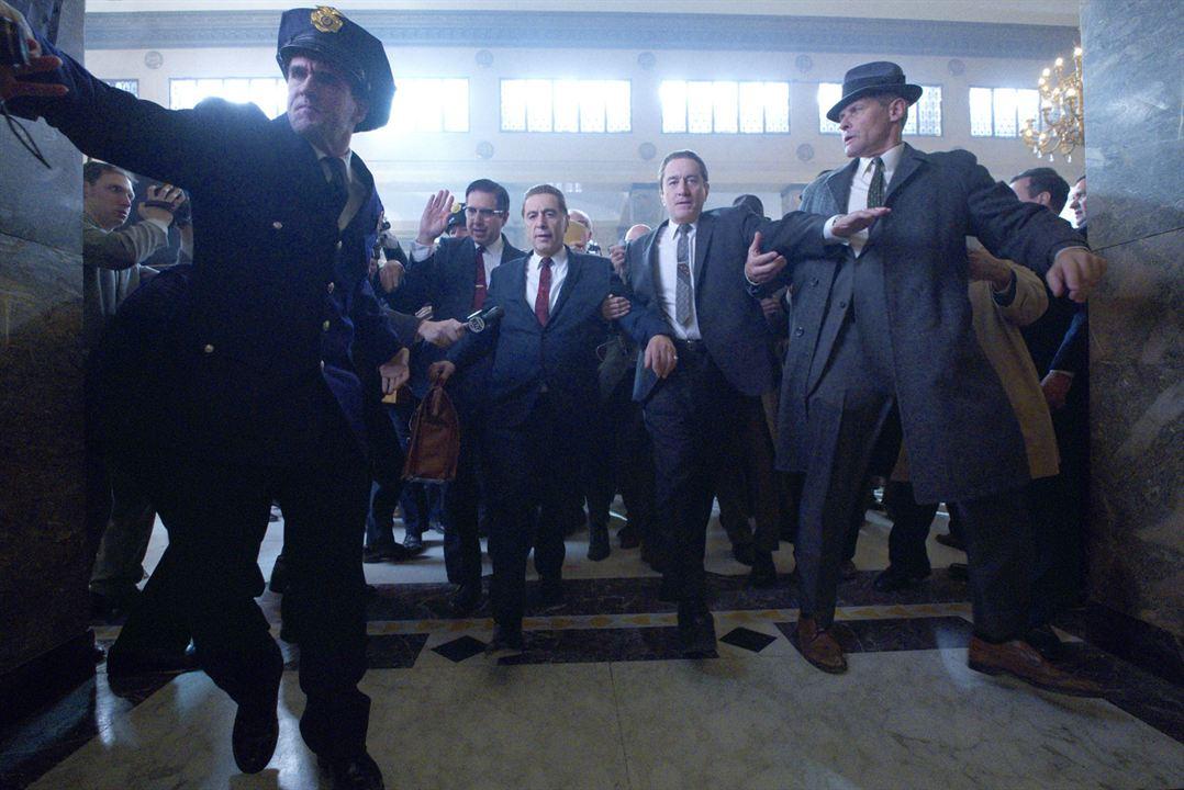 El irlandés : Foto Al Pacino, Robert De Niro