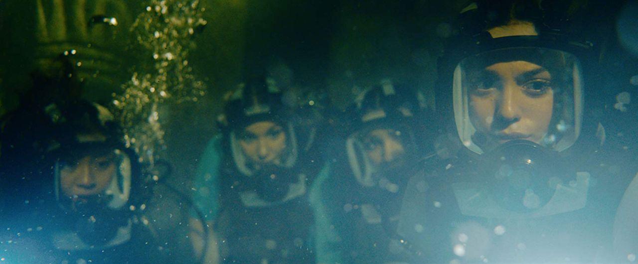 A 47 metros 2: El terror emerge : Foto Brianne Tju, Corinne Foxx, Sistine Rose Stallone