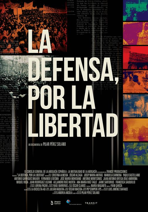 La defensa, por la libertad : Cartel