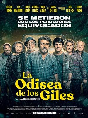 La odisea de los Giles : Cartel